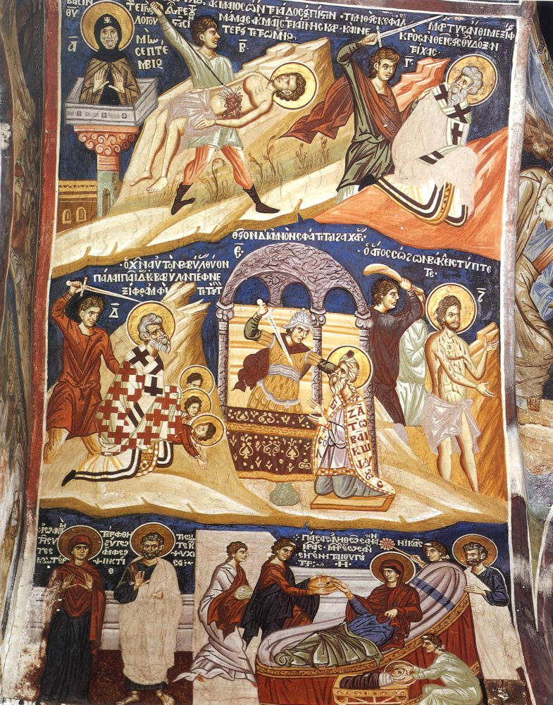The Wall-Paintings of the Chapel of St Demetrius  PEMPTOUSIA