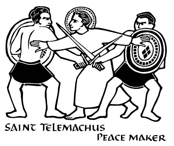 St.-Telemachus-Peace-Maker