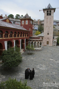 Moments from Vatopaidi Monastery