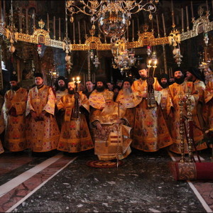 Feast of Annunciation at Vatopedi Monastery