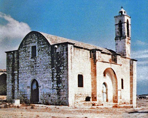 Chursch of Saint Anastasios, Peristeropigi