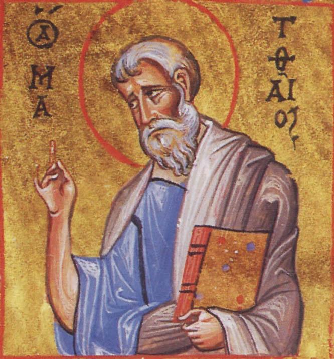 saint matthew taxcollector apostle and evangelist