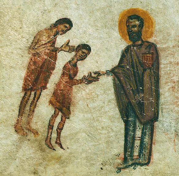 ioan cel milostiv, psaltire bizantina s14,walter arts museum baltimore in
