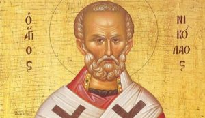 Saint Nicholas, the Saint of the Seas