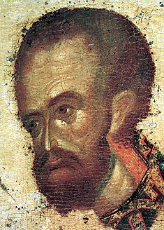 Ioan Hrisostom, 1405 Teofan Cretanul IN L corner