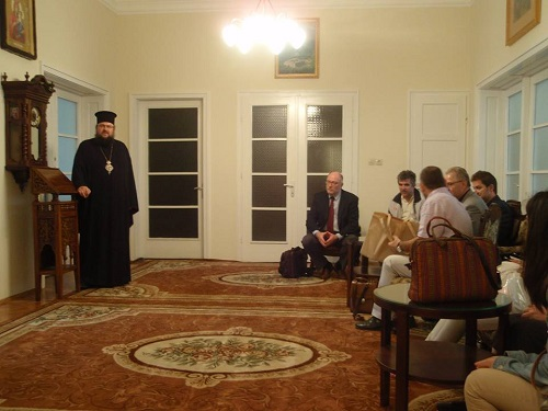 From the visit to the Patriarchate of Bulgaria