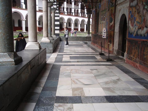 The talanto sounds for Vespers at Rila