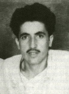 Paisios while serving in the army