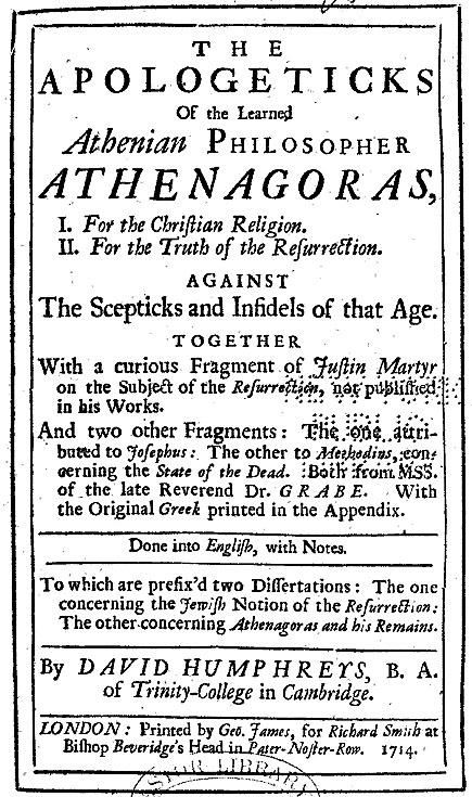 Athenagoras IN