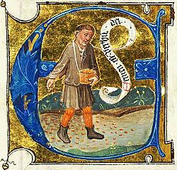 Pilda Semanatorului, 15th Century Manuscript, Utrecht IN