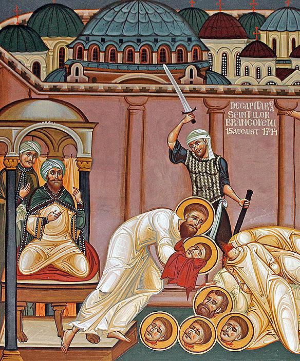 Tăierea capetelor Sfinților Brâncoveni, Sorin Efros