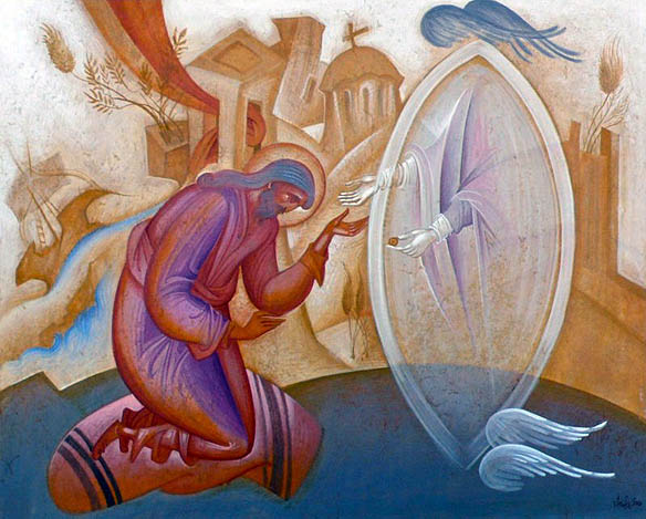 THE-VISION-OF-SAINT-JOHN-KOUKOUZELIS-TEMPERA-ON-WOOD