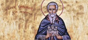 Venerable Euthymius the Athonite