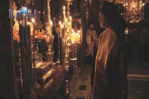 Chanting in Mt Athos