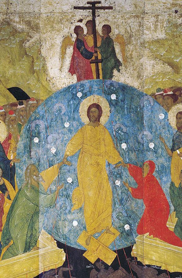 Invierea Domnului, de Dionisie, Rusia s 15 IN