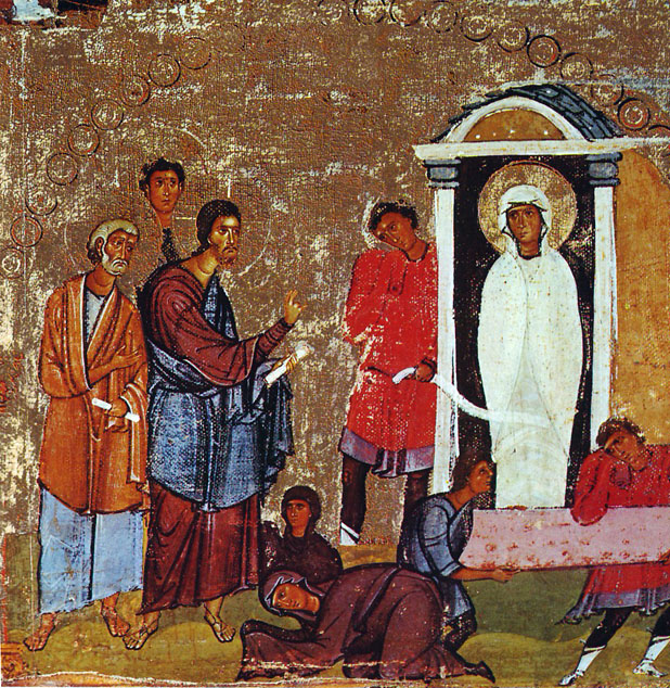 Lazarus_Miracle_Icon_Sinai_12th_century IN