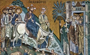 The Palm Sunday and the Holy Week