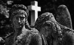 The Lychakiv Cemetery in Lvov, Ukraine