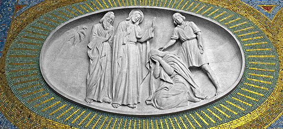 Christ_Absolves_the_Woman_Caught_in_Adultery-CC-Wikimedia-IN