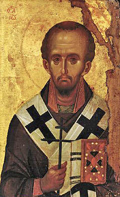 St John Chrysostom, end of the 13th century, from Vatopedi Monastery IN R