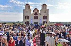 The first church dedicated to Saint Porphyrios of Kavsokalyvia