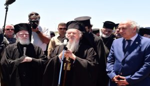 His All-Holiness Ecumenical Patriarch Bartholomew Arrives in Chania, Crete