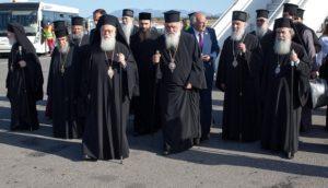 Arrival of the Primates of the Autocephalous Orthodox Churches
