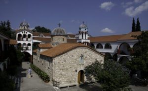 The Holy Monastery of Saint David the Elder (Evia).