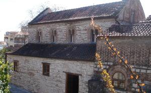 The main church of Saint Theodora, empress and patron saint of Arta.