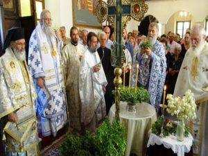 Celebration of the Elevation of the Precious Cross on Leros
