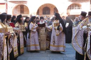 Sunday of Orthodoxy at Vatopaidi