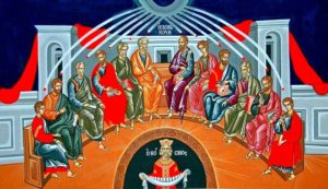 On the day of Pentecost