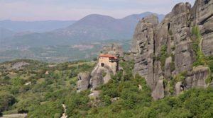 Around the World- Meteora - The Holy Monastery of Saint Nikolaos Anapavsas