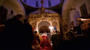 Inauguration of the Church of the Kelli of the Precious Cross at Provata, on the Holy Mountain