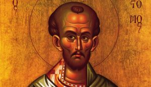 Excerpt from the Homily On the New Sunday, and on the Apostle Thomas by St. John Chrysostom. [PG vol. 63]