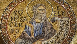 Prophet Elijah, the gift of God