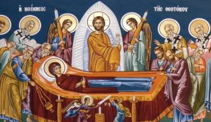 The Dormition of the Mother of God. Transition to Life