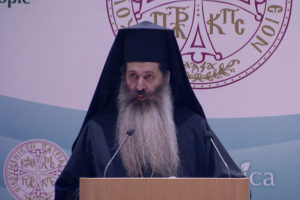 """Toward a Greener Attica"" – Welcoming Address by Bishop Simeon of Thespies"