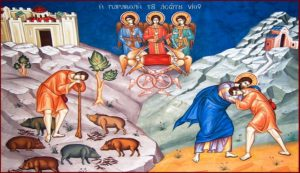 What exactly was the return of the Prodigal Son? (1)