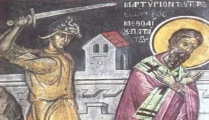Hieromartyr Methodios Bishop of Patara (June 20)