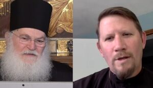 Online discussion  with Elder Ephraim Vatopaidinos and Fr. John Parker, Dean of St Tikhon's Orthodox Theological Seminary