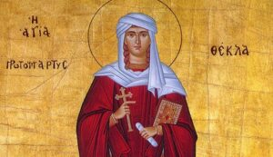 Homily on the Holy Great Martyr and equal to the Apostles Thekla