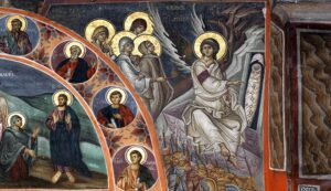 Sunday of the Myrrh-Bearing Women. The Second Annunciation